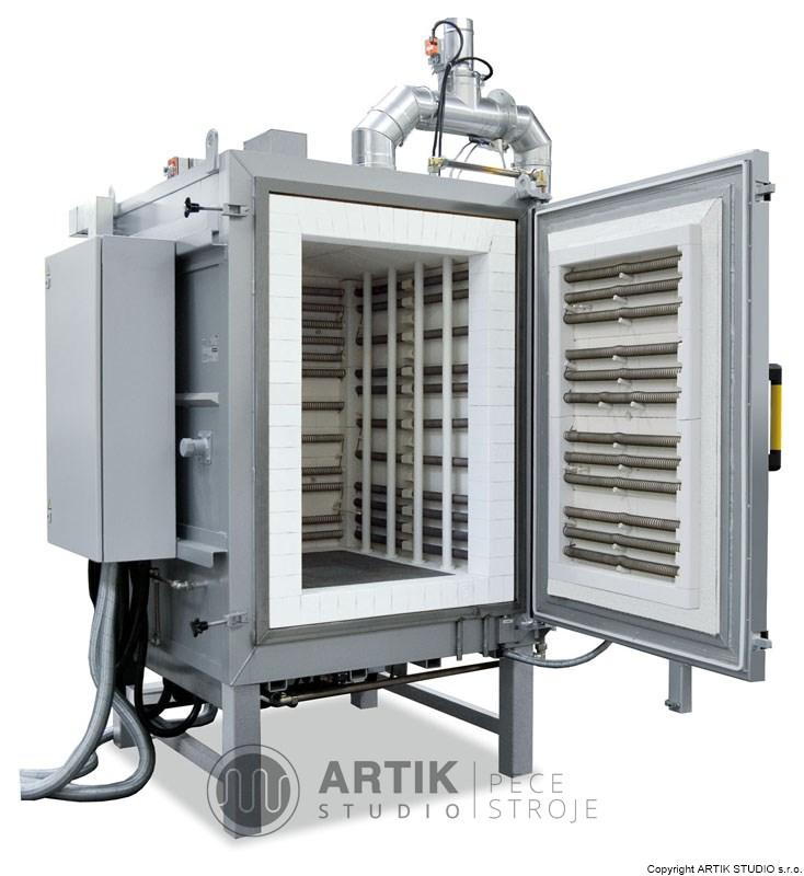 Pec pro uvolňování pojiva Nabertherm N650 HDBS - průmyslová pec