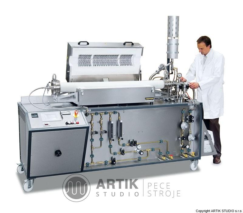 Vakuová trubková pec Nabertherm - laboratorní pece